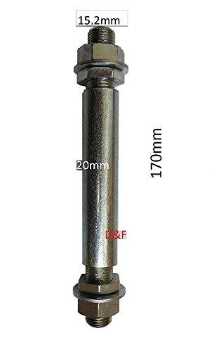 D&F - Rueda para carretilla (4.80/4.00-8, goma resistente, con eje, poliuretano): Amazon.es: Industria, empresas y ciencia