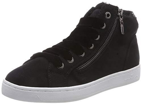 Noir Femme Baskets Hautes 00001 Tailor 5892609 black Tom xzZq18wR