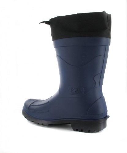 Nils - para hombre botas de agua, Color:Azul oscuro;Talla:43