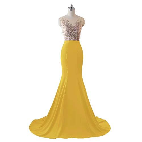 King's Abendkleid Stickerei Formale 16 Brautkleid Frauen Lange Pailletten Spitze Meerjungfrau Love HwqHrXA