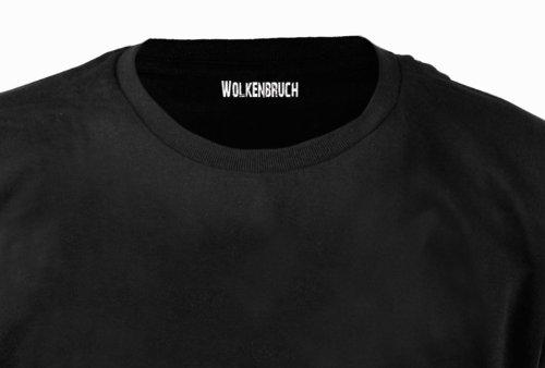 Wolkenbruch® Herren T-Shirt Augen auf - Überwachung Gr.S-XXXXXL