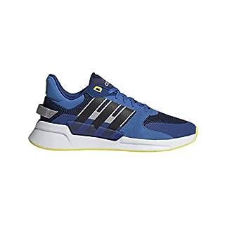 adidas Run90s NVY/Black/YEL Running Shoes 10