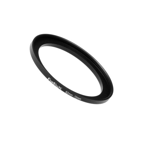 62 Mm Adapter Ring - Fotodiox Metal Step Up Ring Filter Adapter, Anodized Black Aluminum 62mm-72mm, 62-72 mm