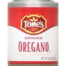 Tones Ground Oregano - 0.4 oz. jar, 144 per case by Tone Brothers