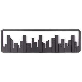 Umbra Skyline Wall-Mount Multi-Hook, Black