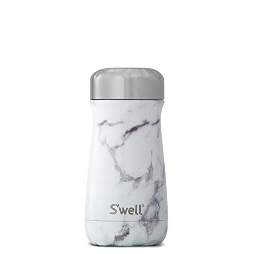 el Travel Mug, 16 oz, White Marble ()