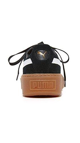 Women Puma White PUMA Black Suede Puma AqaqRdO1
