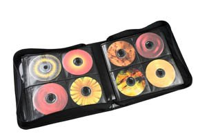 SENTRY CD200 CD/DVD Wallet Holder, 3-Ring - 3 Ring Cd Holder