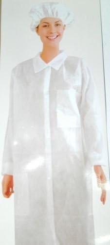 charlotte calot universel papier blanche de travail jetable Blouse Protection