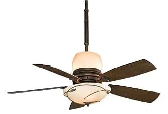 Fanimation Hf7200bz Hubbardton Forge Leaf Ceiling Fan With