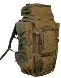 Eberlestock F4 Terminator Pack w/Removable Fanny Top, Coyote Brown F4MC, Outdoor Stuffs