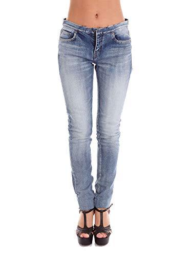 Cotone Saint Blu Donna 428546Y477K4060 Jeans Laurent YxqIawqOU