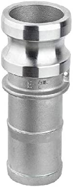 1pc 1/2 Inch To 4 Inch Type E Male Camlock Stainless Steel 304 Trash Pump Adapter With Hose Barb (Size : 3