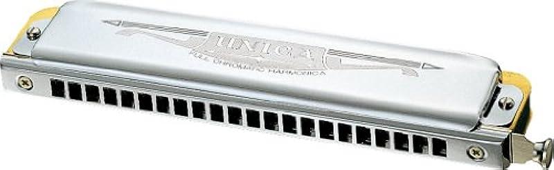 TOMBO 크로메틱 하모니카 22홀 슬라이딩 유니카 1244C