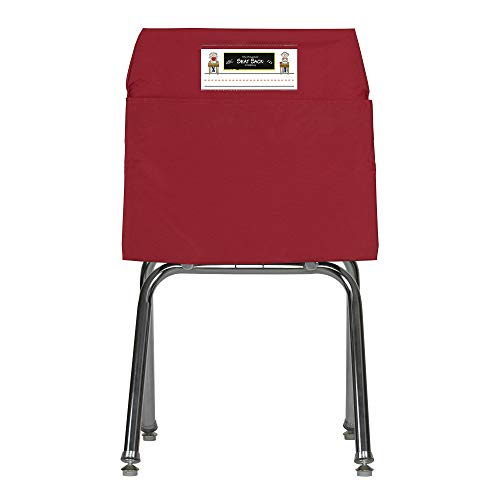Seat Sack Storage Pocket, Medium, 15 Inches, Red