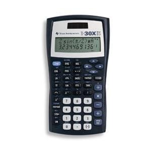 The Great Calculator,Scientific, 2 Line Display, Top Line 11-Digit/Bottom Line 10, Solar - TI-30X-IIS by Generic