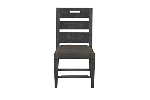 Magnussen D3804-62 Abington Dining Side Chair, Weathered Charcoal (Dining Room Magnussen Furniture)