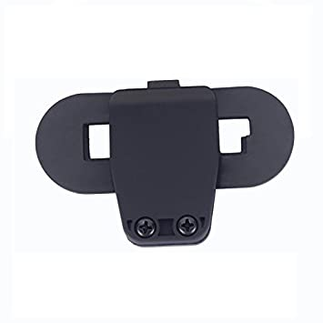 FreedConn Intercom Talkie accesorio Clip para Interphone Bluetooth Casco de la motocicleta Intercom Auriculares T-COMVB y T-COMSC 2Pcs