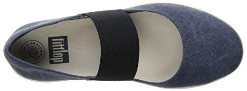 Fitflop Donna F-sporty Mary Jane Flat Midnight Navy