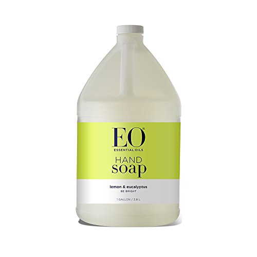 EO Liquid Hand Soap Refill, Lemon and Eucalyptus, 128 Fluid