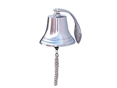 - Chrome Hanging Harbor Bell 7