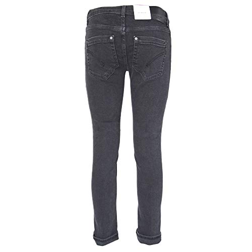 P692ds0198pdd999 Jeans Cotone Dondup Nero Donna qYXWO