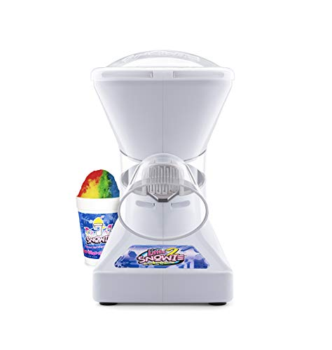 Little Snowie 2 Ice Shaver - Premium Shaved Ice Machine and Snow Cone Machine with Syrup Samples (Best Shaved Ice Machine For Home)