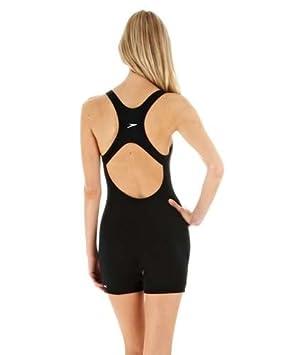 Speedo Endurance Myrtle Legsuit Womens Bust Support Quick Drying