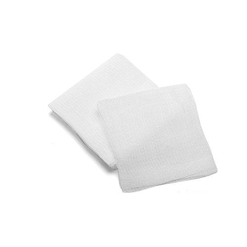MediChoice Gauze Sponge, 8-Ply, USP Type VII, Non-Sterile, 4x4 inch, White, 1314GZ74501 (Case of 4000)