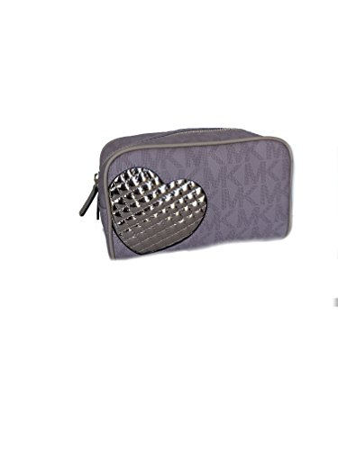Price comparison product image MICHAEL KORS SIGNATURE MEDIUM TRAVEL POUCH / COSMETIC CASE Pink Ballet