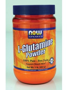 NOW Foods L-Glutamine Pure Powder, (Now Foods L-glutamine Powder)