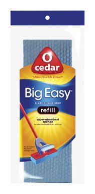 Big Easy Flat Sponge Mop Refill by O-Cedar