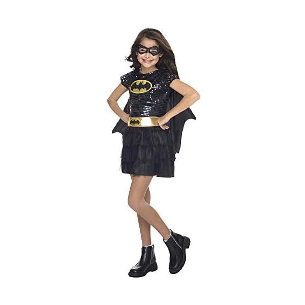 Girls Batgirl Tutu Dress Kids Costume Small 4 6 Girls Costume