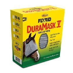 Draft Horse Fly Mask - Duramask Fly Mask Size: XX-Large/Draft, Color: Yellow
