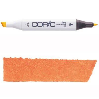 Marcador Copic con reemplazable Nib, yr04-copic, Cromo Naranja