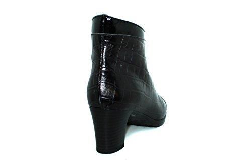 Botines con tacón de mujer Maria Jaen - modelo 1157N Negro