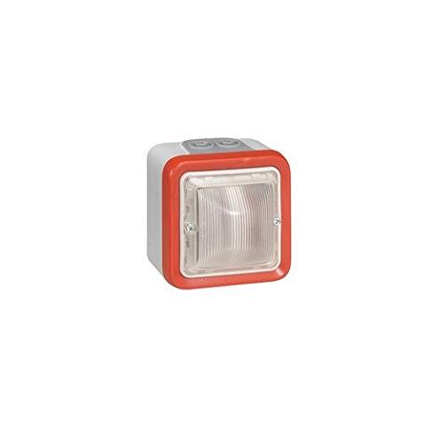 40 /à 44 mA 2 Mod Legrand 040597 Diffuseur Lumineux Plexo pour Alarme Incendie saillie
