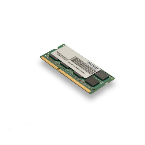 Patriot Signature 4 GB PC3-10600 (1333 MHz) DDR3 SODIMM Notebook Memory PSD34G13332S by Patriot