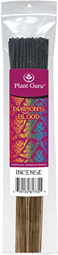 Dragon's Blood Exotic Incense Sticks, 185 Grams in Each Bundle 85 to 100 Sticks, Premium Quality Smooth Clean Burn, Each Stick Is 10.5 Inches Long Burn Time is 45 to 60 Minutes Each Stick. - Long Incense