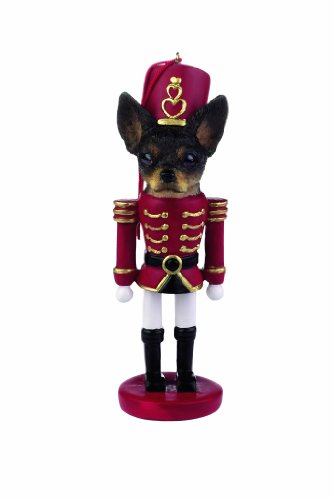 E&S Pets 35358-11 Soldier Dogs - Dog Nutcracker