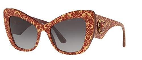Amazon.com: Gafas de sol Dolce & Gabbana DG 4349 F 32068G ...