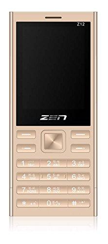 ZEN Z12 Silk Dual SIM Feature Phone  Gold