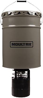 Moultrie Pro Hunter Hanging Deer Feeder | 6.5 Gallon| 40 lb Capacity, Mossy Oak Break-Up Infinity Camo Finish