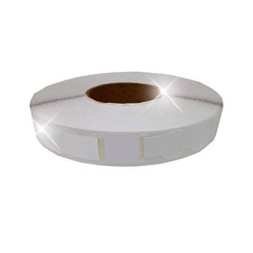 10,000 Tabs Per Roll White 1.5