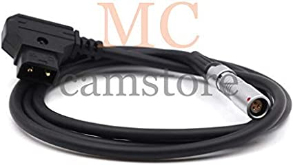 MCCAMSTORE D-tap Male to RS3pin Female for ARRI AMC-1 Power Cable 20