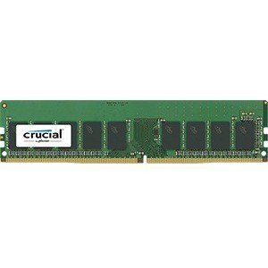 - Crucial Technology 8GB 288-Pin EUDIMM DDR4 (PC4-19200) Server Memory Module, CL=17, Unbuffered, 2400 MT/S Speed, ECC, 1.2V, Single Rank, x8 Based, 1024Meg x 72