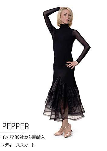 (アールエスアトリエ) RS Atelier 「Pepper」|スカート| 社交ダンス|レッスンウェア|ダンス|レディース|マリグラント|女|女性|ストレッチ B0747HR3PX Small