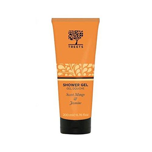 Treets Bodycare Shower Gel in Sweet Mango and Jasmine 200ml (Sweet Treet)
