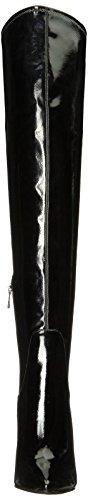 Londy Patent Boot Fashion Black Jessica Women's Simpson qWB7aEa