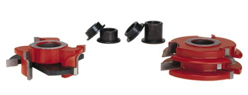 Freud EC-260 Beading Profile Shaper Cutter Set For 3/4-Inch Rail And Stile Doors - 3/4 Bore
